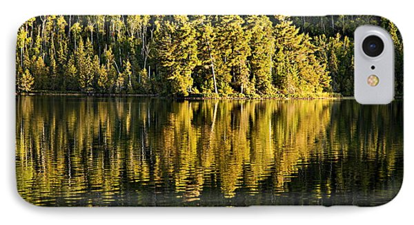 Evening Reflections On Alder Lake Phone Case by Larry Ricker