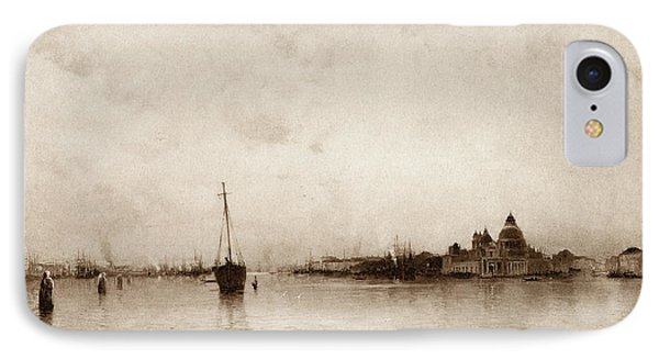 Evening   Venice IPhone Case by Marie Joseph Leon Clavel