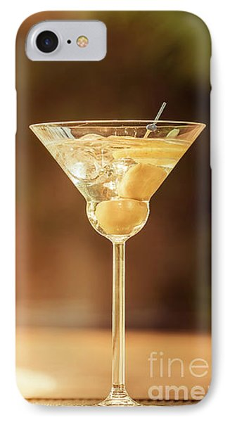 Evening With Martini IPhone 7 Case by Ekaterina Molchanova