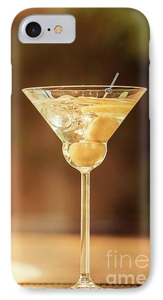 Evening With Martini IPhone Case by Ekaterina Molchanova