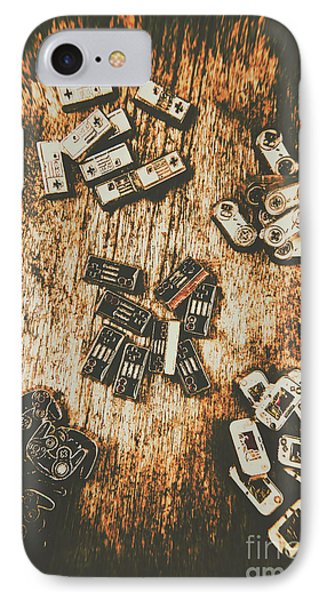 Evolution In Early Gaming IPhone Case by Jorgo Photography - Wall Art Gallery