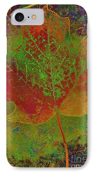 Evolution Of Life IPhone Case by Deborah Benoit
