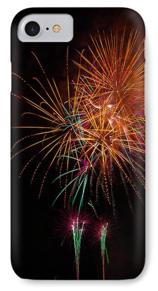 Exciting Fireworks IPhone Case by Garry Gay