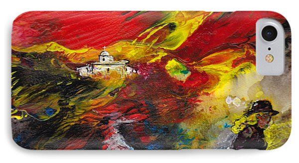 Expelled From The Land Phone Case by Miki De Goodaboom