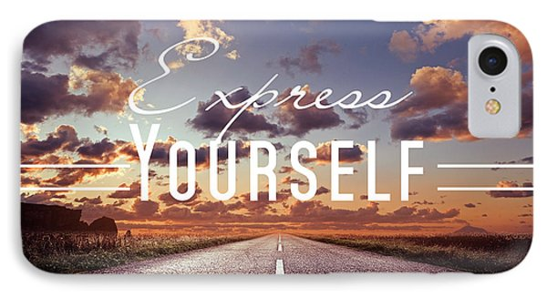 Express Yourself IPhone Case by Mark Ashkenazi
