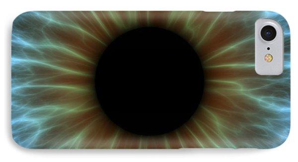 Eye, Iris Phone Case by Pasieka