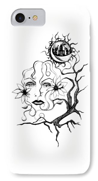 Eye Of The Beholder IPhone Case by Shawna Rowe