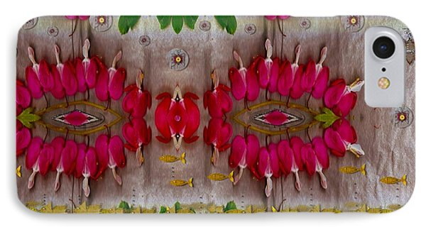 Eyes Made Of The Nature IPhone Case by Pepita Selles