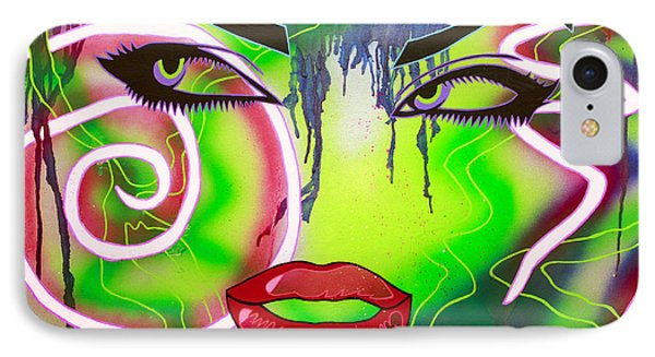 Eyes That Could Kill Phone Case by Bobby Zeik
