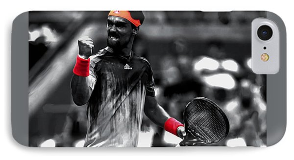 Fabio Fognini IPhone 7 Case by Brian Reaves