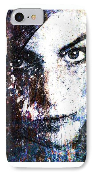 Face In A Dream IPhone Case by Marian Voicu