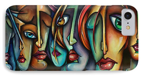 'face Us' Phone Case by Michael Lang