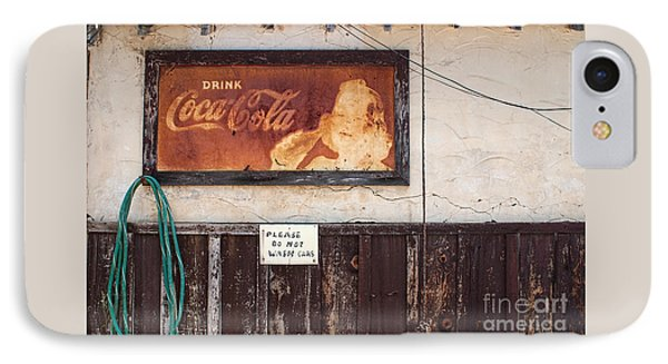 Faded Refreshment IPhone Case by Scott Nelson