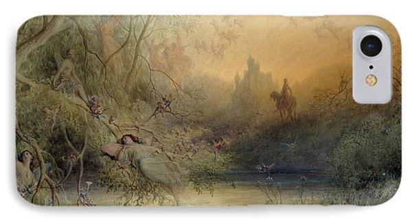 Fairy Land IPhone 7 Case by Gustave Dore