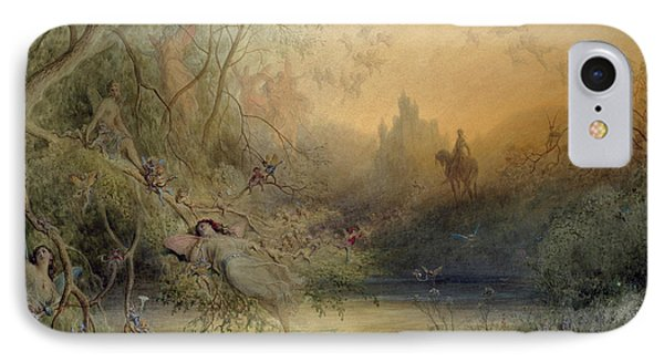 Fairy Land IPhone Case by Gustave Dore