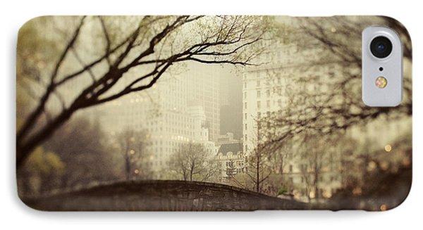Fairy Of New York Phone Case by Irene Suchocki