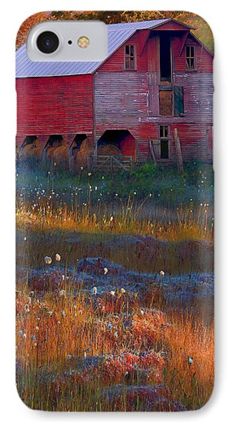 Fall Barn Phone Case by Ron Jones
