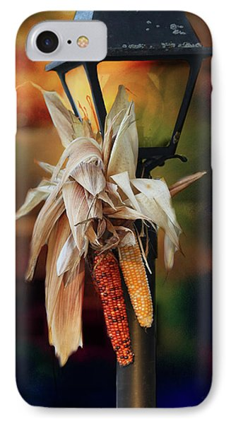 Fall Is Coming IPhone Case by Theresa Campbell