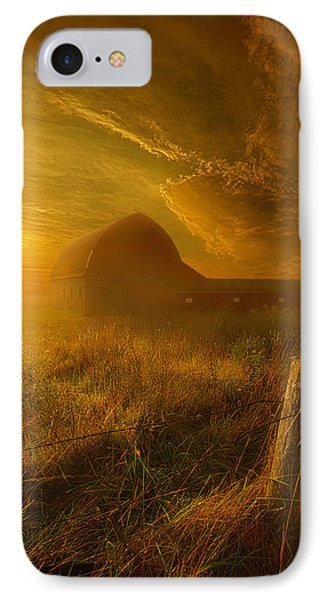 Falling Through Time IPhone Case by Phil Koch