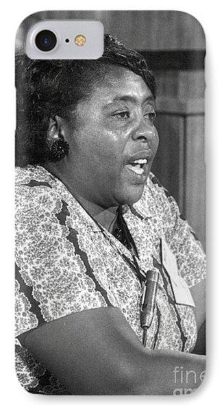 Fannie Lou Hamer (1917-1977) Phone Case by Granger