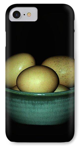 Farm Fresh Eggs IPhone Case by Lesa Fine