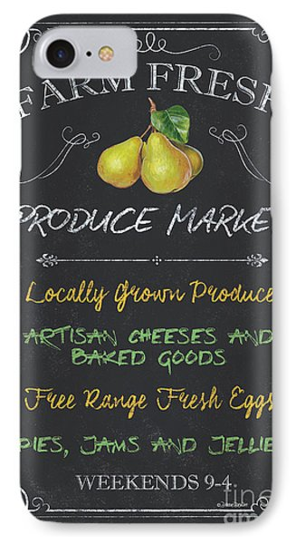 Farm Fresh Produce IPhone Case by Debbie DeWitt