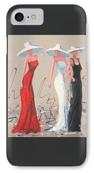 Fashionistas IPhone Case by Thalia Kahl