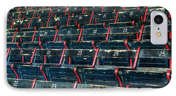 Fenway Park Grandstand Seats IPhone Case by Joann Vitali