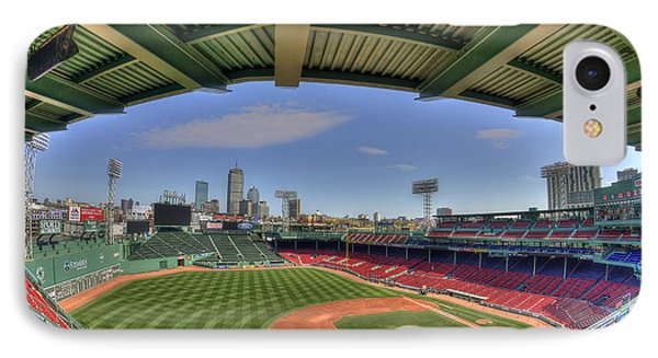 Fenway Park Interior  IPhone Case by Joann Vitali