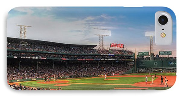 Fenway Park Panoramic - Boston IPhone Case by Joann Vitali