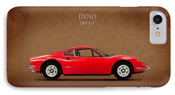 Ferrari Dino 246 Gt IPhone Case by Mark Rogan