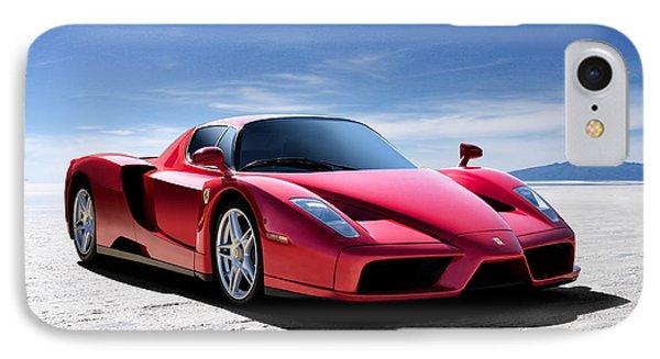 Ferrari Enzo IPhone Case by Douglas Pittman