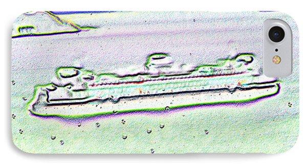 Ferry In The Rain Phone Case by Tim Allen