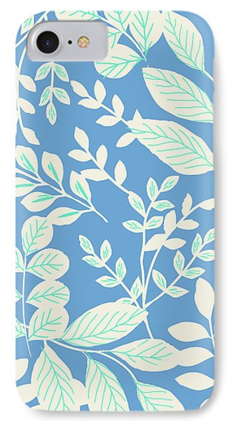 Field Of Leaves IPhone Case by Arte Flora Design Studio