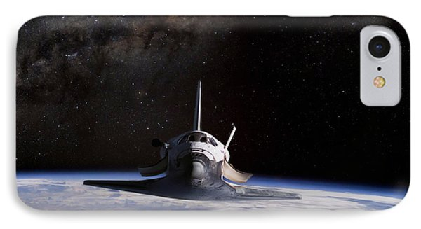 Final Frontier IPhone Case by Peter Chilelli