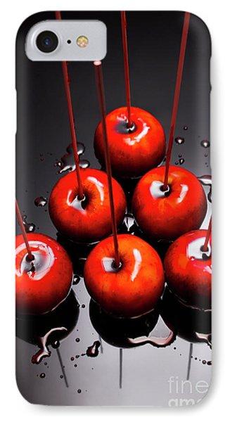 Fine Art Toffee Apple Dessert IPhone Case by Jorgo Photography - Wall Art Gallery