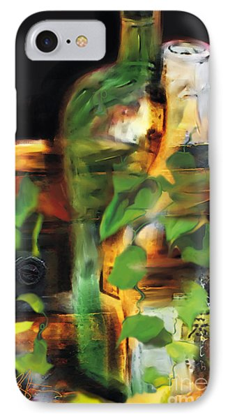 Fine Wine Phone Case by Bob Salo