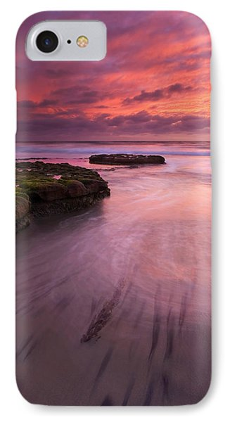 Fingers Of The Tide Phone Case by Mike  Dawson