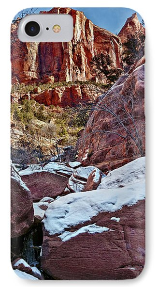 Fire And Ice Phone Case by Christopher Holmes