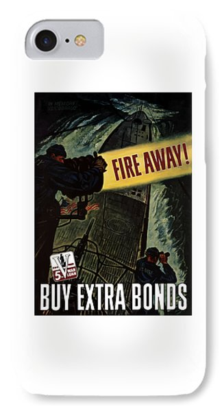 Fire Away IPhone Case by War Is Hell Store