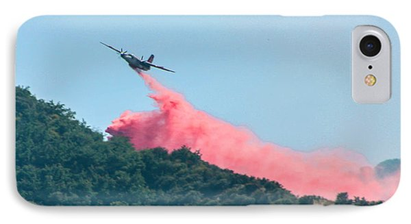 Fire Bomber Drop Phone Case by Tommy Anderson
