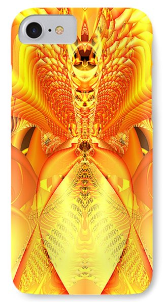 Fire Goddess IPhone Case by Gina Lee Manley