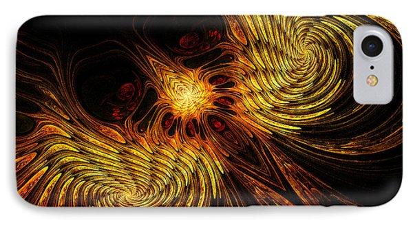 Firebird IPhone Case by John Edwards