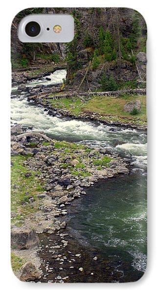Firehole River 2 Phone Case by Marty Koch