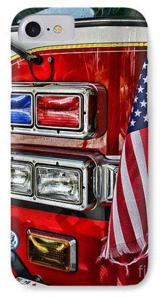 Fireman - Fire Truck Phone Case by Paul Ward