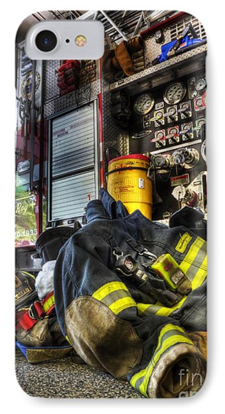 Fireman - Always Ready For Duty IPhone 7 Case by Lee Dos Santos