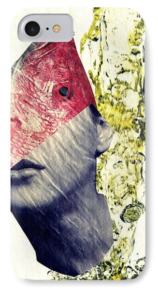 Fishhead Phone Case by Sarah Loft