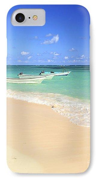 Fishing Boats In Caribbean Sea IPhone Case by Elena Elisseeva