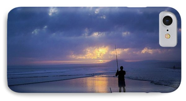Fishing Gold IPhone Case by Ca Photography