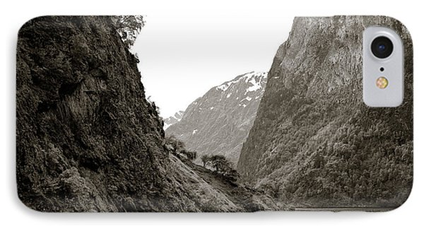 Fjord Beauty IPhone Case by Dave Bowman